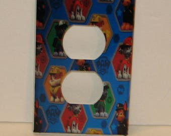 Paw Patrol Outlet Receptacle Cover Childs Room