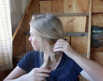 RECIPE: Sensitive Scalp Hair Oil Treatment