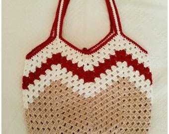 Crochet Purse, Crochet Bag, Crochet Shoulder Bag, Handbag,Gift for Her