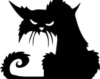 Le Chat Noir Vinyl Decal Sticker
