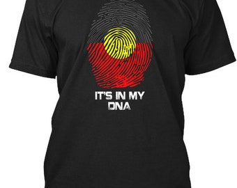 It'S In My Dna - Hanes Tagless Tee - Black