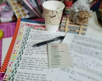 Write for Me: Handwritten Letter Service