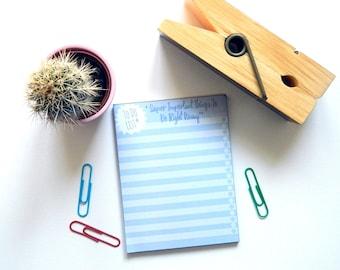 V. Important To Do List Sticky Notepad