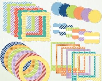 Digital Frames & Labels - Spring is Near - Clip Art Clipart  Instant Download Printable - G7043