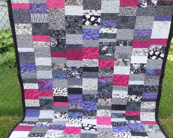 Contemporary Scrappy  Quilt