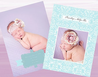 Newborn Announcement (Presenting)