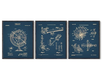 Telescope, Astronomy prints, Astronomy gift, US Patent, Poster, Science Gift, Space Print, Science Art, Space Science, Astronomy Art, #P302