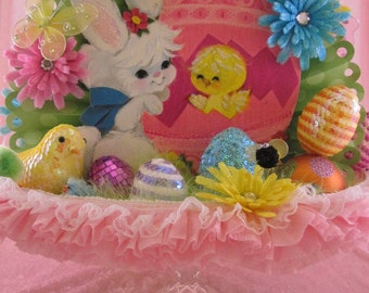 Easter Centerpiece, Spring Centerpiece,