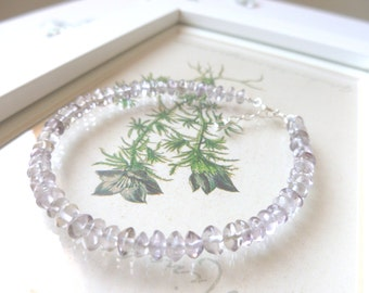 Ametrine and Sterling Silver Bracelet, India