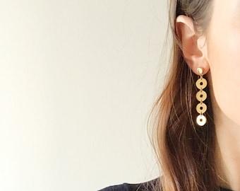 Disc Earrings - Hypoallergenic Titanium
