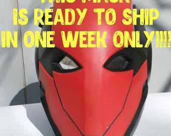 Chaperon rouge masque casque FanArt