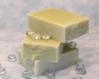 Jewelweed Soap Great for Summer Adventures, Natural Olive Oil Handmade Bar Soap, No Added Color or Scent, Specialty Gentle Cleanser