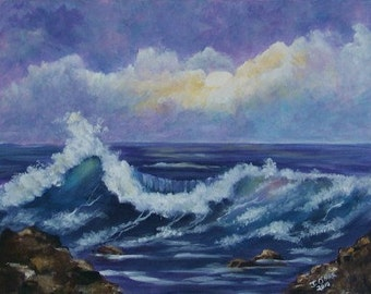 Seascape 10 x 12 Limited Edition Print