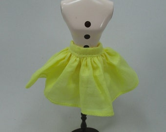 Handmade outfit for Blythe doll skirt Z-18 yellow