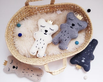 Polar bear plush toy, Teddy bear, polar bear, bears, woodland animal, stuffed animal, baby shower gift, cute plush, teddy bear plush, bear
