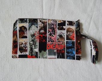 The Walking Dead wristlet or clutch