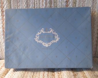 Churston Deckle Wedgwood Blue Stationery Set