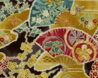 Cotton Fabric Quilting RJR Wind Symphony - Asian fabric