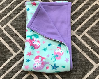 Mermaid Fantasy Fleece Blanket