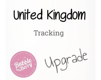 UK tracking post price extra, Order Tracking Number, Track and Trace, Signed For Mail If you live in the UK