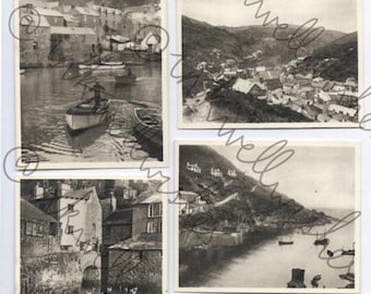 Vintage photographs UK fishing village Part B