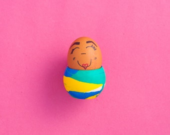 Jesmonite Egg Cup