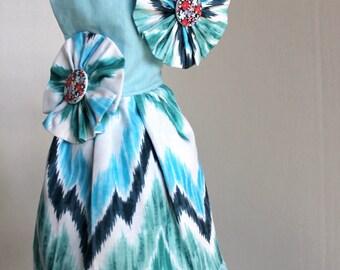 Blue Dress For Cat