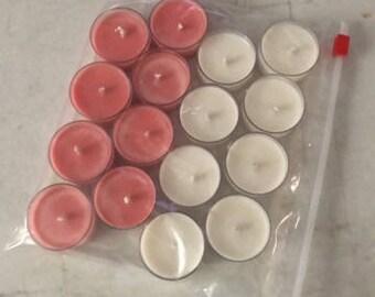 Tea lights, Soy Wax, soy candles,