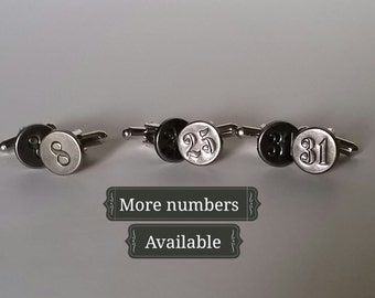Lucky Number Cuff Links