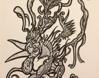 Drawing Framed