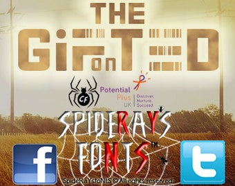 THE G¡FonTED Commercial Font