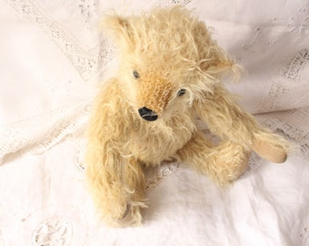 Mohair Cream Teddy Bear Limited Edition by Past Times
