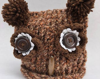 Oh Baby Owl Hat