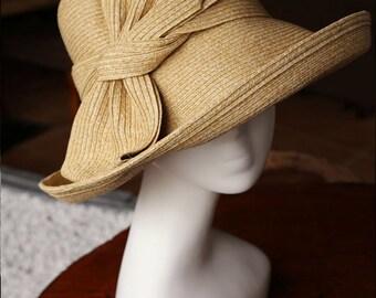 Women's summer straw hat-Straw Hat  -sun hat