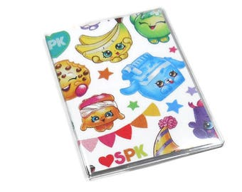Passport Cover Shopkins