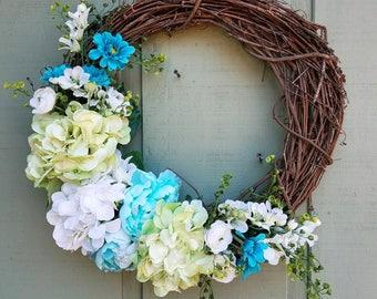 "Spring Has Sprung Wreath (18"")"