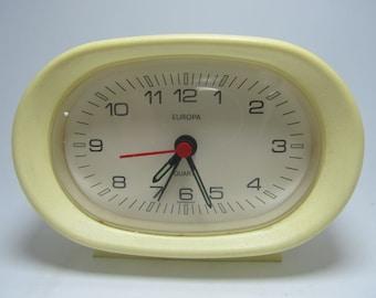 Vintage Europa Alarm Clock Germany