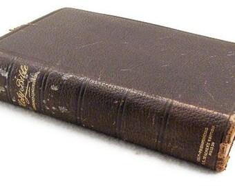 1898 Antique Bible - Nelsons Self Pronouncing S.S. Teachers Edition