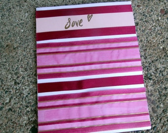 Elegant Garnet Love-Inspired Greeting Card - Blank