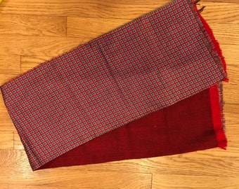 Vintage Gentleman's evening scarf