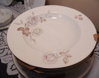 Johann Haviland Bavaria Germany Sweetheart Rose Fine China Dinnerware Set NEW 24 PCS Feminine Style Vintage Tableware Delicate Dishes