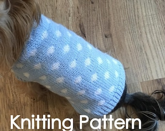 Dog Sweater with Dots