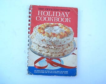 Holiday Cookbook, Christmas Recipes, Many Recipes, Officer Wives Cookbook, Military Cookbook, Veterans Cookbook, Military, Christmas Decor