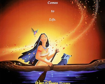 Pocahontas 1995 (can be personalised)