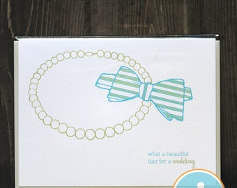 What a Beautiful Day For A Wedding - Wedding Card