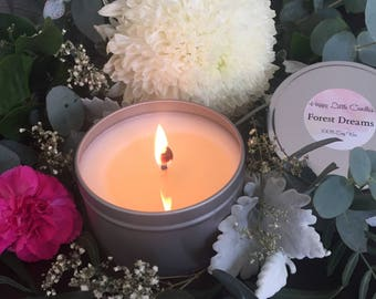 Soy Candle Handmade - Forest Dreams
