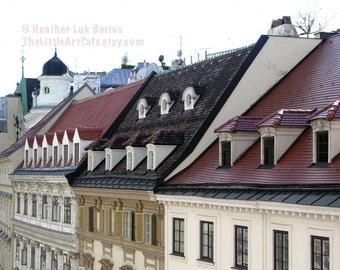Vienna Photography - Facades - Austrian Architecture - Wall Decor - Art Print