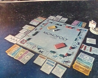 "1970 Anniversary Edition ""Monopoly"" A Parker Game"