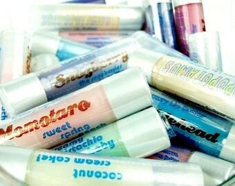 Lip Balm 3 Pack - choose three - Shea Lip Butters