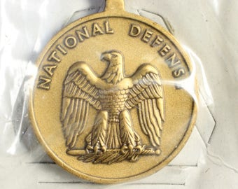 Lot of 3 sets National Defense Service Medals with Ribbons sealed in boxes, National Defense Medals, Collectible US Medals, Military medals